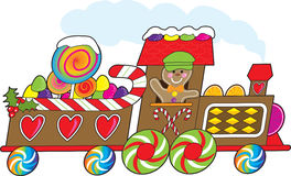 Gingerbread Train Royalty Free Stock Photo