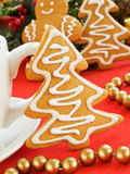Gingerbread tree Stock Photos