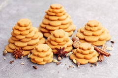 Gingerbread tree Stock Image