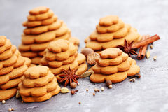 Gingerbread tree Royalty Free Stock Photo