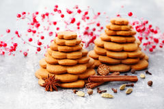 Gingerbread tree Royalty Free Stock Image