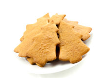 Gingerbread trees Stock Image