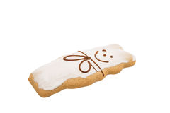 Gingerbread on a white Stock Photo
