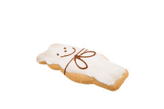 Gingerbread on a white Stock Photos