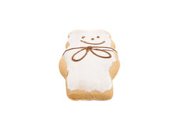 Gingerbread on a white Royalty Free Stock Images