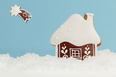 Gingerbread winter Royalty Free Stock Photography