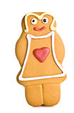 Gingerbread woman Royalty Free Stock Photos