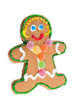 Gingerbread woman Stock Images