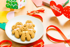 Gingerbread for xmas Royalty Free Stock Photos