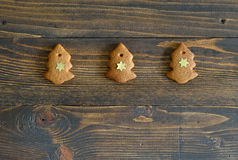 Gingerbread Xmas tree Royalty Free Stock Image