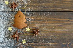 Gingerbread Xmas tree Royalty Free Stock Photos
