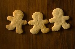 gingerbreadman Photo stock
