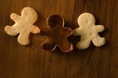 gingerbreadman Photographie stock