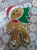 Gingerbreadman royaltyfria foton