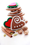gingerbreads рождества стоковое фото