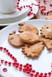 Gingerbreads рождества Стоковая Фотография RF
