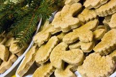 gingerbreads рождества стоковые изображения rf