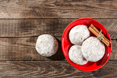 Gingerbreads with cinnamon Stock Image