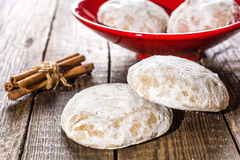 Gingerbreads with cinnamon Royalty Free Stock Image