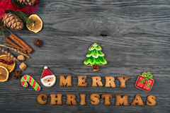 Gingerbreads For New Years And Christmas Royalty Free Stock Image