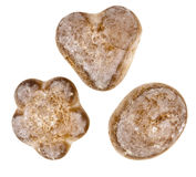 Gingerbreads isolated Stock Photography