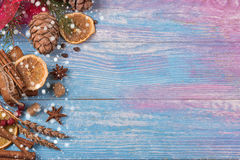 Gingerbreads for new years and christmas Stock Images