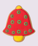 Gingerbreard christmas bell Royalty Free Stock Image