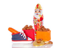 Gingernuts et cadeaux Photos stock