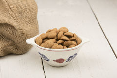 Gingernuts Royalty Free Stock Photography