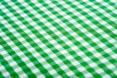 gingham ανασκόπησης πράσινο Στοκ Εικόνες