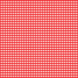 gingham κόκκινο Στοκ φωτογραφία με δικαίωμα ελεύθερης χρήσης