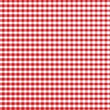 gingham κόκκινο Στοκ εικόνα με δικαίωμα ελεύθερης χρήσης