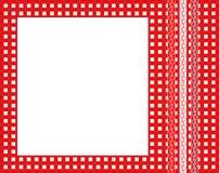 gingham πλαισίων Στοκ εικόνες με δικαίωμα ελεύθερης χρήσης