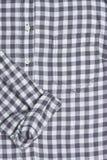 Gingham πουκάμισο Στοκ Φωτογραφία