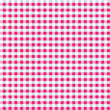 gingham ροζ μιγμάτων άνευ ραφής Διανυσματική απεικόνιση