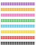 gingham διαιρετών πρότυπο Στοκ εικόνες με δικαίωμα ελεύθερης χρήσης