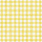 Χλωμός - το κίτρινο Gingham σχέδιο επαναλαμβάνει το υπόβαθρο Στοκ εικόνα με δικαίωμα ελεύθερης χρήσης