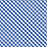μπλε διαγώνια gingham ανασκόπησης άνευ ραφής ύφανση Στοκ Εικόνες