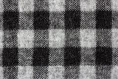 Gingham check on soft flannel shirt. Texture background Royalty Free Stock Images