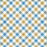 Gingham cloth background Stock Photo