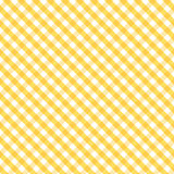 Gingham Cross Weave, Gold, Seamless Background vector illustration
