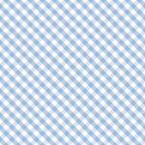 Gingham Cross Weave, Pastel Blue, Seamless Background Royalty Free Stock Image