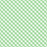 Gingham Cross Weave, Pastel Green Seamless Royalty Free Stock Images