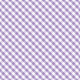 Gingham Cross Weave, Pastel Lavender, Seamless Background Stock Photos