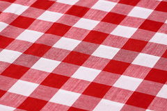 Gingham fabric Royalty Free Stock Photo