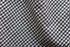 Gingham Fabric. Close-up of gingham fabric Stock Photos
