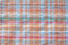 Gingham fabric. Abstract background texture of some plaid fabric Stock Photography