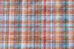 Gingham fabric. Abstract background texture of some plaid fabric Royalty Free Stock Images