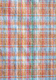 Gingham fabric. Abstract background texture of some plaid fabric Stock Images