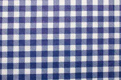Gingham fabric background Stock Image